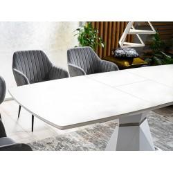 Išskleidžiamas pietų stalas Cortez baltas
